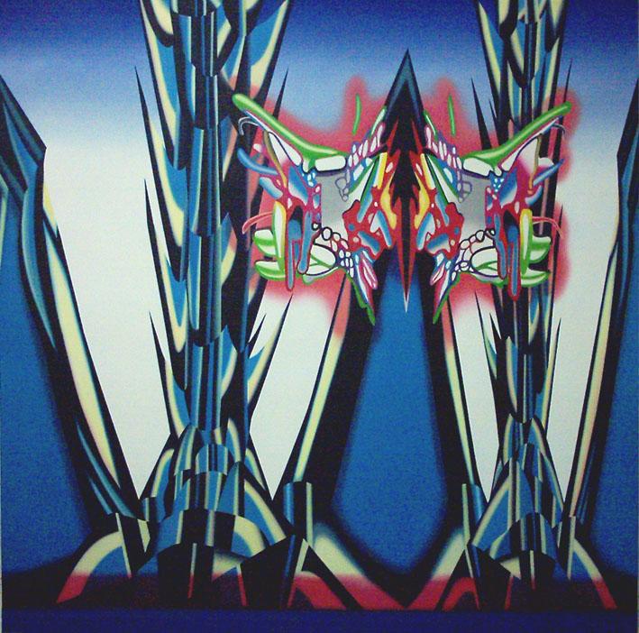 Demeter,óleo lienzo,180x180cm